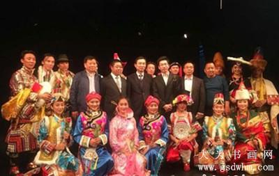 """之路文化之旅—藏族歌舞晚会""""-甘南藏乡文化走进以色列海法港城"""