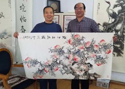 杜永涛的山水画就是眼前的风景,是生活的片段.观山悟山出山画山.